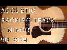 Embedded thumbnail for Acoustic Guitar Backing Track | E Minor (90 Bpm)