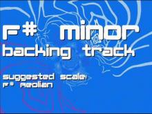Embedded thumbnail for F# Minor Backing Track: Rock, Dynamic, Modern
