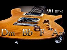 Embedded thumbnail for Sad Slow Guitar Ballad Backing Track D minor