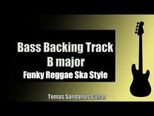 Embedded thumbnail for Bass Backing Track Jam in B Major |  Funky Reggae Ska Style