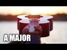 Embedded thumbnail for Driving Acoustic Guitar Instrumental In A Major | On The Road