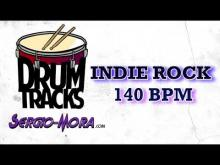 Embedded thumbnail for Drum track Indie rock 140 BPM