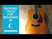 Embedded thumbnail for Slow Beginner solo in  C MAJ backing track