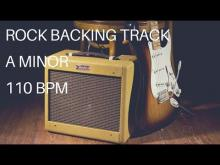 Embedded thumbnail for Rock Guitar Backing Track | A Minor (110 Bpm)