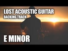 Embedded thumbnail for Lost Acoustic Guitar Backing Track In E Minor