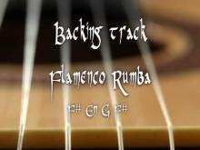 Embedded thumbnail for Backing track flamenco rumba F# Em G F#
