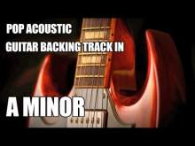 Embedded thumbnail for Pop Acoustic Guitar Backing Track In A Minor / C Major