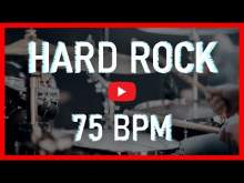 Embedded thumbnail for Hard Rock Drum Track 75 BPM Rock Drum Beat Backing Track (Track ID-46)