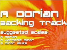 Embedded thumbnail for A Dorian Backing Track: Carlos Santana Style, Latin, Rock