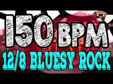 Embedded thumbnail for 150 BPM - Blues Rock Shuffle #1  - 12/8 Drum Track - Metronome - Drum Beat