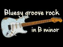 Embedded thumbnail for Bluesy Groove Rock Backing Track in Bm