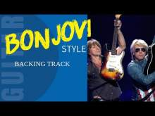 Embedded thumbnail for Bonjovi Rock Style Backing Track Jam in A minor