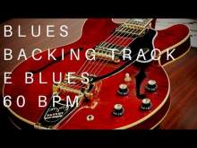 Embedded thumbnail for Blues Guitar Backing Track | E Major (60 Bpm)