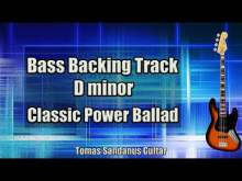 Embedded thumbnail for Bass Backing Track D minor - Dmi - Classic Rock Power Ballad - NO BASS