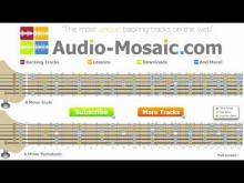 Embedded thumbnail for Epic Rock Backing Track in Am _____Audiomosaic backing track for guitar