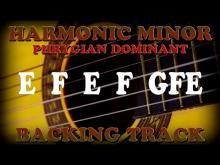 Embedded thumbnail for A Harmonic Minor E Phrygian Flamenco Backing Track