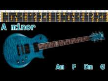 Embedded thumbnail for Dance Rock Guitar Backing Track - A minor | 105bpm