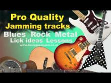 Embedded thumbnail for Guitar Jamming track - Gm Rock Deep Purple style backing track