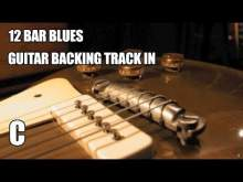 Embedded thumbnail for 12 Bar Blues Guitar Backing Track In C