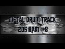 Embedded thumbnail for Ultra Aggressive Metal Drum Track 205 BPM | Preset 3.0 (HQ,HD)