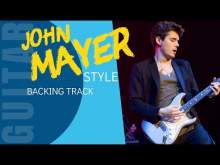 Embedded thumbnail for JOHN MAYER Style Funk Blues Backing Track for Guitar Jam (Am)