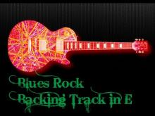 Embedded thumbnail for Blues Rock Backing Track in E