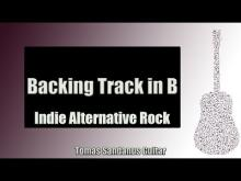 Embedded thumbnail for Indie Alternative Rock | Guitar Backing Track Jam in B with Chords | B dorian | C# phrygian Scale
