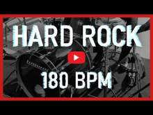 Embedded thumbnail for Hard Rock Drum Track 180 BPM Rock Drum Beat Backing Track (Track ID-18)