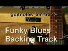 Embedded thumbnail for Funky Blues - Backing Track - Key of A - Guitar Jam Track