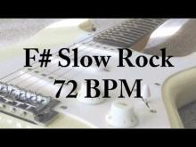 Embedded thumbnail for F# Slow Rock - Lead Jam Track