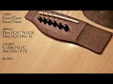 Embedded thumbnail for Soft Acoustic Guitar Ballad Backing Track C Major