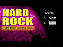 Embedded thumbnail for Hard Rock #4 Guitar Backing Track 189 Bpm Highest Quality