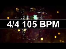 Embedded thumbnail for Drums Metronome 105 BPM