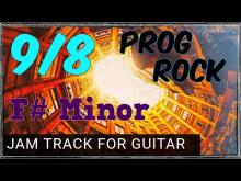 Embedded thumbnail for 9/8 Prog Rock Guitar Backing Track in F#