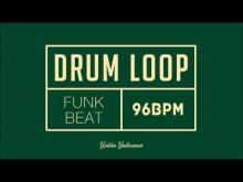 Embedded thumbnail for Funk Drum Loop 96 BPM