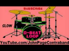 Embedded thumbnail for Slow D-Beat Drum Loop Track 120 bpm Practice Tool