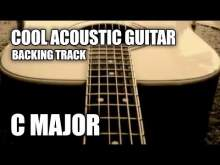 Embedded thumbnail for Cool Acoustic Guitar Backing Track In C Major / A Minor
