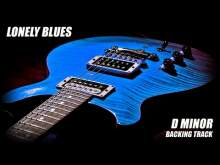 Embedded thumbnail for Lonely Blues Ballad Guitar Backing Track D Minor