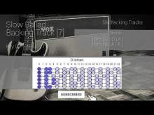 Embedded thumbnail for Slow Ballad Guitar Backing Track Jam In D [7]
