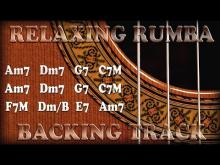 Embedded thumbnail for Backing Track Relaxing Gipsy Flamenco Rumba