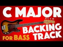 Embedded thumbnail for C Major (Ionian) Backing Track For Bass