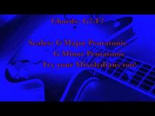 Embedded thumbnail for Blues Backing Tracks - Jam Track G7-F7