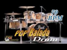Embedded thumbnail for Pop Balada 70 bpm - Drum rhythm in ballad