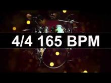 Embedded thumbnail for Drums Metronome 165 BPM