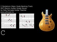 Embedded thumbnail for Guitar Backing Track C Pentatonic Major - Grade Seven