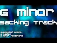 Embedded thumbnail for G Minor Jam Track: Modern Melodic Metal, Heavy Rock, 100 BMP